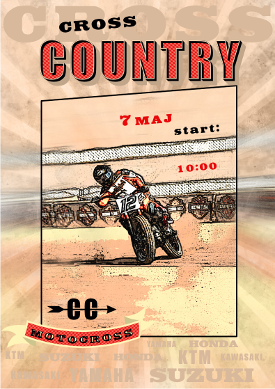 grafsol studio plakat Cross Country